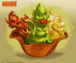 The Ice Cream dragon Whelps