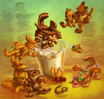 Cookie dragon whelps dunkers