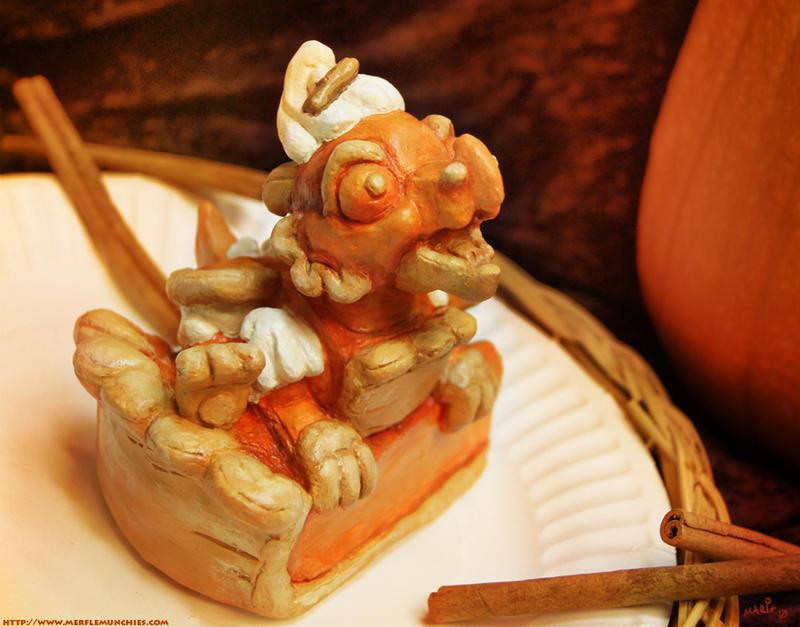 Pumpkin pie dragon whelp