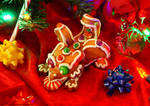 The Gingerbread dragon whelp