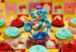 Fondants cupcake party