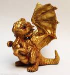 Golden dragon hatchling
