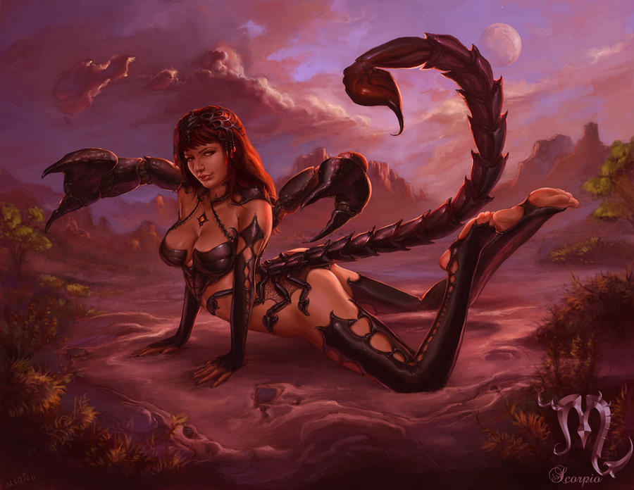Scorpio by The-SixthLeafClover