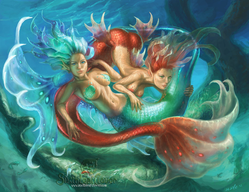 Pisces By The SixthLeafClover