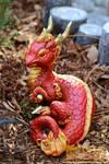 Royal Red Eastern Dragon Hatchling