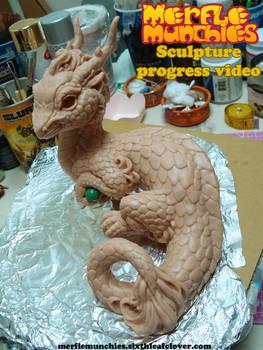 Eastern Dragon Sculpture Video WIP