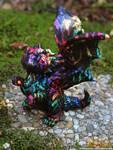 Retro Rainbow Dragon