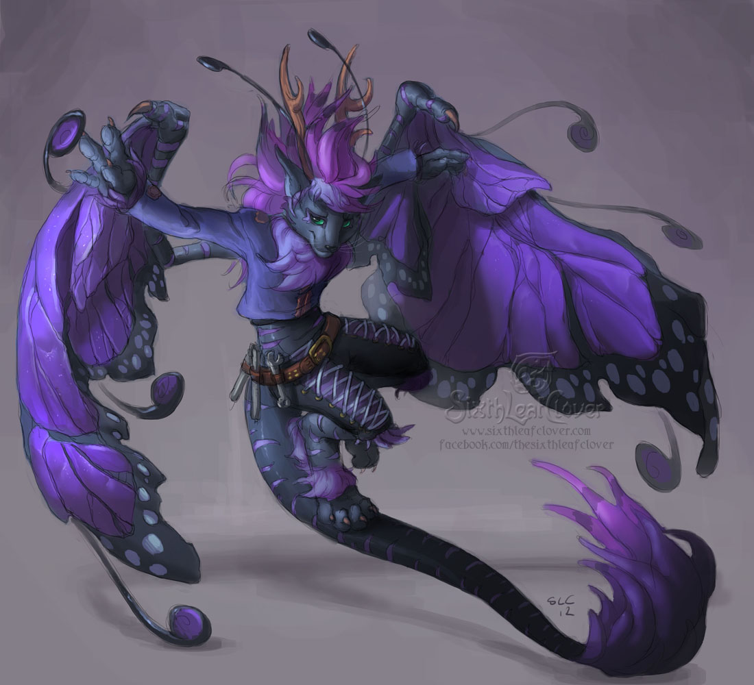 Kellashee sketch concept 3 by The-SixthLeafClover