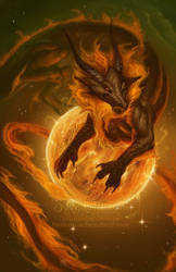 2013 Zodiac Dragon . Leo by The-SixthLeafClover