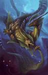 Zodiac Dragon . Pisces