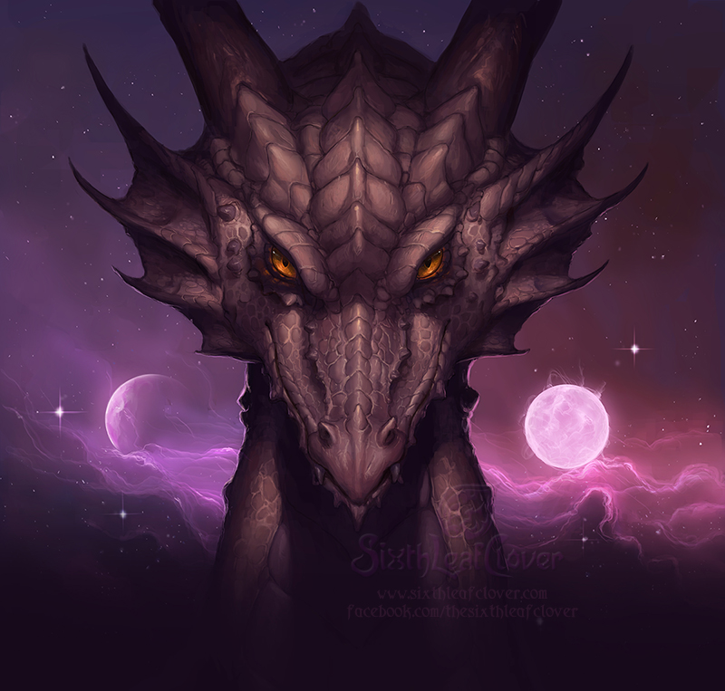 2013 Dragon Zodiac Cover Art by The-SixthLeafClover