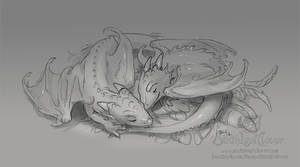 Sleeping Dragon Whelps