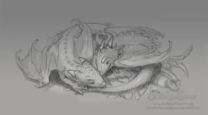 Sleeping Dragon Whelps