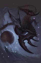 Zodiac Dragon . Scorpio by The-SixthLeafClover