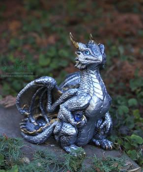 Youthful Silver Dragon