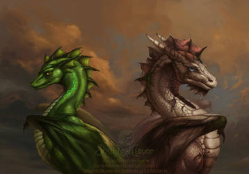 Dragon Prophecies Series Two by The-SixthLeafClover