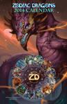 2014 Zodiac Dragons Calendar