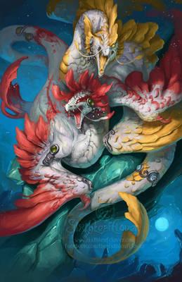 2014 Zodiac Dragons - Pisces
