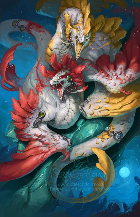 2014 Zodiac Dragons