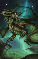 2014 Zodiac Dragons - Taurus by The-SixthLeafClover