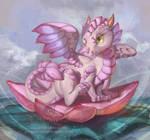 Lotus Dragon Hatchling