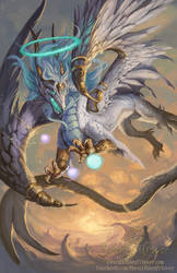 2014 Zodiac Dragons - Virgo by The-SixthLeafClover
