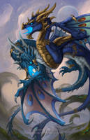 2014 Zodiac Dragons - Gemini by The-SixthLeafClover