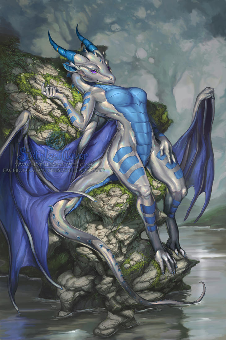 Byzil on The Rocks by The-SixthLeafClover