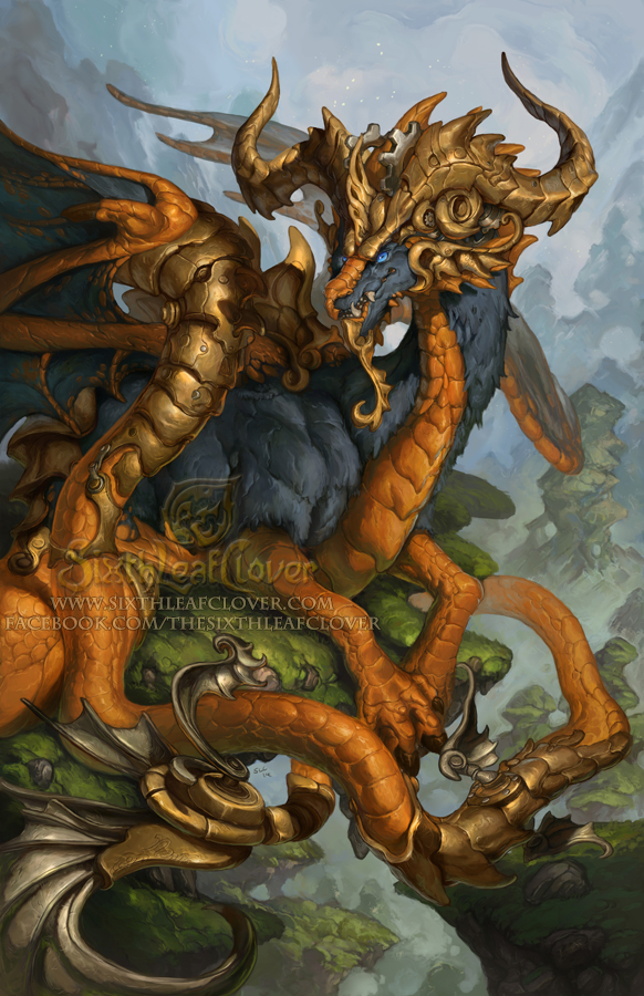 2015 Zodiac Dragons - Capricorn by The-SixthLeafClover