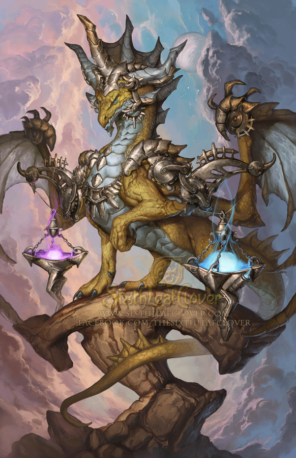 2015 Zodiac Dragons - Libra by The-SixthLeafClover