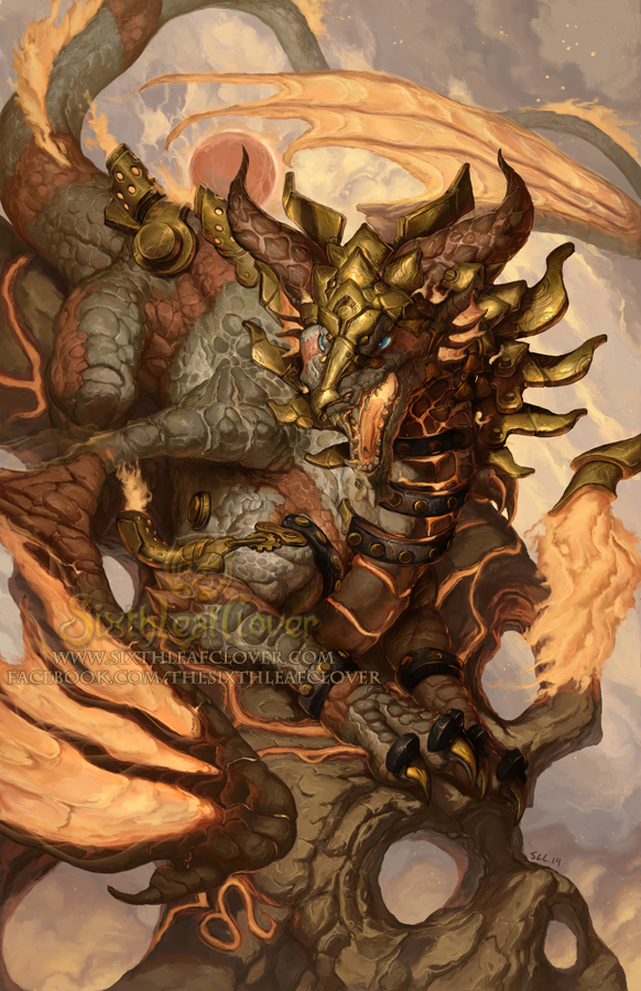2015 Zodiac Dragons Leo By The Sixthleafclover On Deviantart