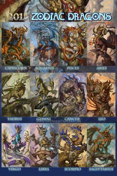 2015 Zodiac Dragons
