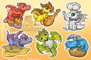Hungry Munchers Sticker Sheet