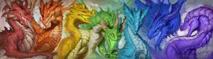 Spectrum of Dragons