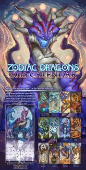 2016 Zodiac Dragons Calendar