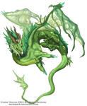 Etheric Dragon Concept - Beastiary 5