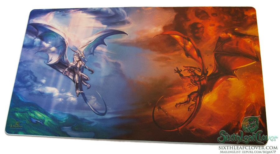 Order and Chaos Dragons Playmat PRE-ORDER by The-SixthLeafClover