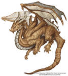 Occult Dragon Concept - Beastiary 5