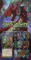 2017 Zodiac Dragons Calendar