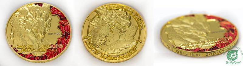 2017 Zodiac Dragons Collectors Coin