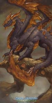 2017 Zodiac Dragons Calendar - Scorpio Dragon