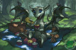 Ketzalian Dragon