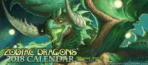 Zodiac Dragons Calendar 2018 Coming Soon