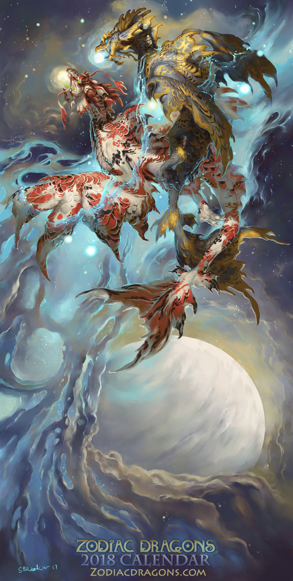 2018 The Water Fish Zodiac Dragons Pisces By SixthLeafClover On DeviantArt