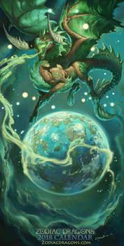 2018 The Terra Bull Zodiac Dragon Taurus