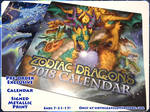 2018 Zodiac Dragons Calendar Exclusive