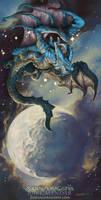 2018 The Water Crab Zodiac Dragon Cancer