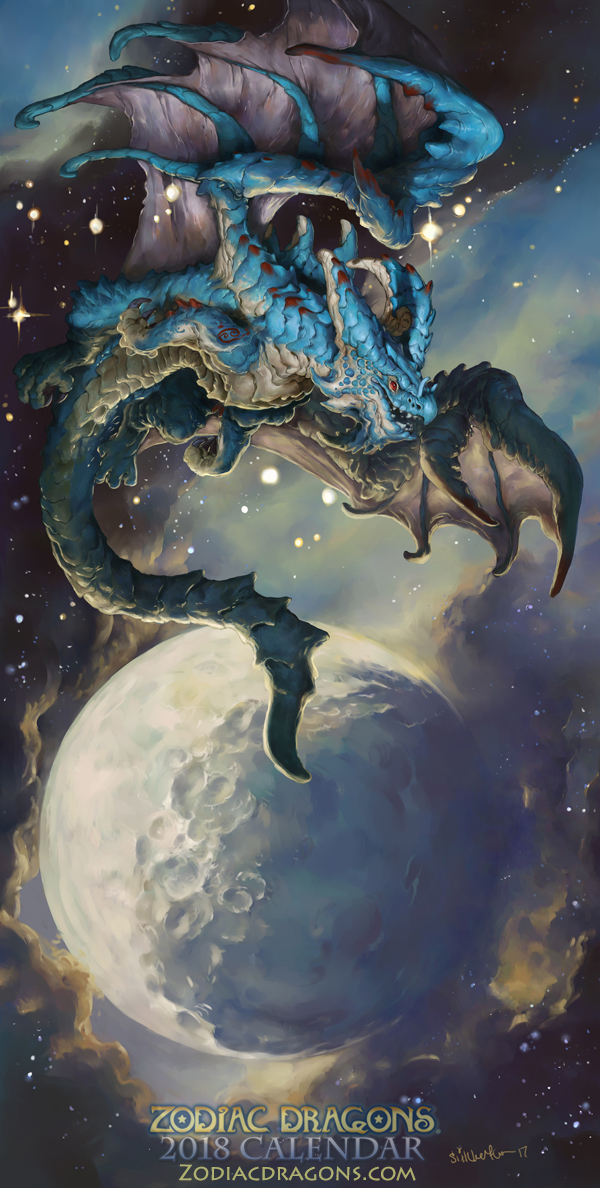 2018 The Water Crab Zodiac Dragon Cancer by The-SixthLeafClover on ...