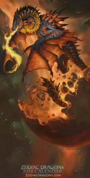2018 The Fire Ram Zodiac Dragon Aries