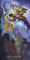 2018 The Twin Air Zodiac Dragons Gemini
